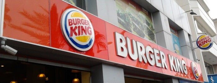Burger King is one of Lieux qui ont plu à Yiğitcan.
