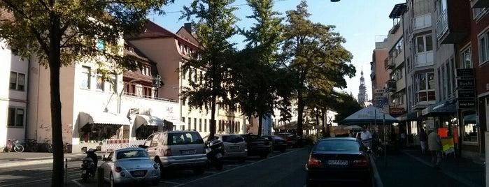 Juliuspromenade is one of Lieblingsorte: Würzburg, Deutschland.