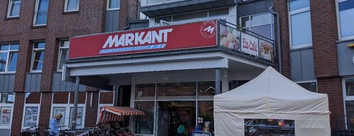 Markant is one of Bensersiel.