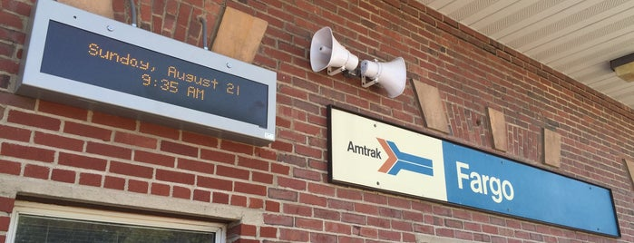 Fargo Amtrak is one of Centros sociais ..