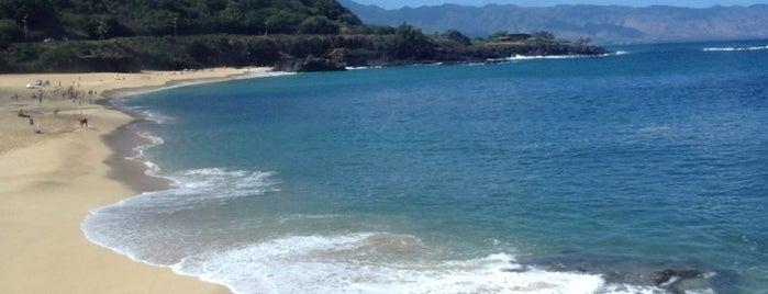 Waimea Bay is one of North Shore.