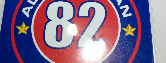 82 All American Diner is one of Lugares favoritos de Diana.