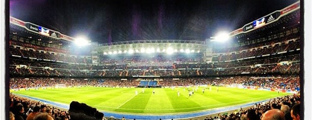 Estadio Santiago Bernabéu is one of The Bucket List.