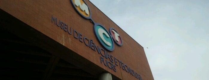 Museo de Ciencia y Tecnología (MCT) is one of Sitios Internacionales.