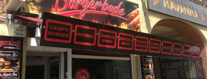 Burgerbude is one of Berlin Burgerspots.