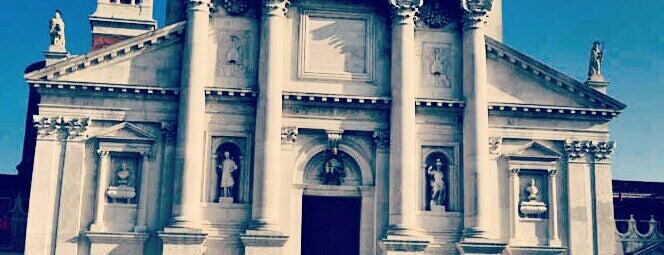Basilica di San Giorgio Maggiore is one of Venice.