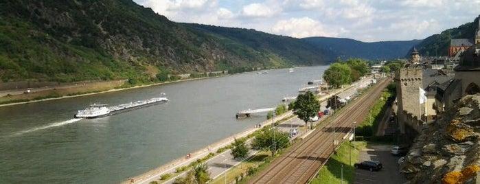 Oberwesel is one of Around Rhineland-Palatinate.