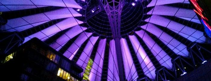 Potsdamer Platz is one of Berlin!.