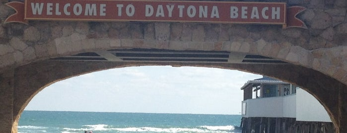 Daytona Beach Boardwalk is one of Sathish's Liked Places.