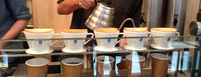 Blue Bottle Coffee is one of nyc.