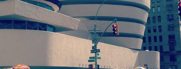 Solomon R Guggenheim Museum is one of Marvel Comics NYC Landmarks.
