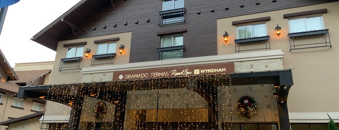Wyndham Gramado Termas Resort & Spa is one of Viagens.