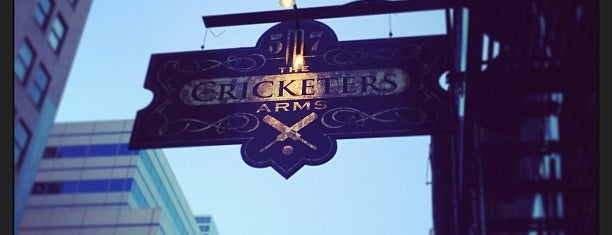 The Cricketers Arms is one of Mark'ın Beğendiği Mekanlar.