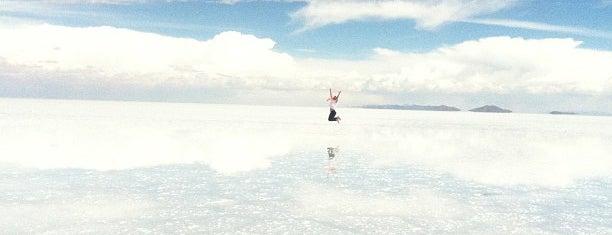 Salar de Uyuni is one of Sitios Internacionales.
