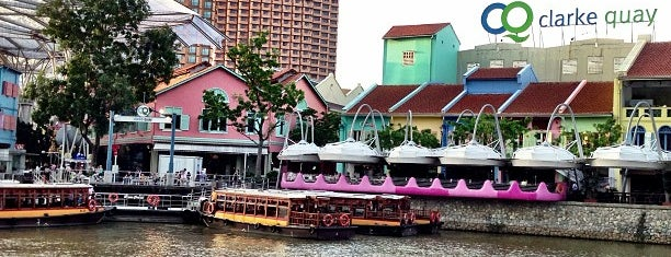 Clarke Quay is one of Lion City.
