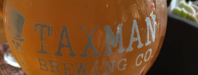 Taxman Brewery is one of Orte, die Cole gefallen.