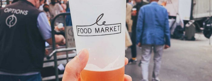 Le Food Market is one of Summer 2019 Trip pt. 3.