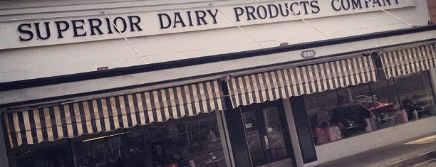 Superior Dairy Company is one of Pacific Old-timey Bars, Cafes, & Restaurants.