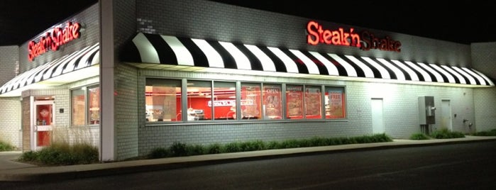 Steak 'n Shake is one of home.