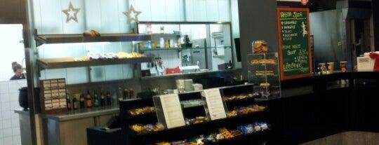 Fresco espresso bar is one of Jeremy's Saved Places.