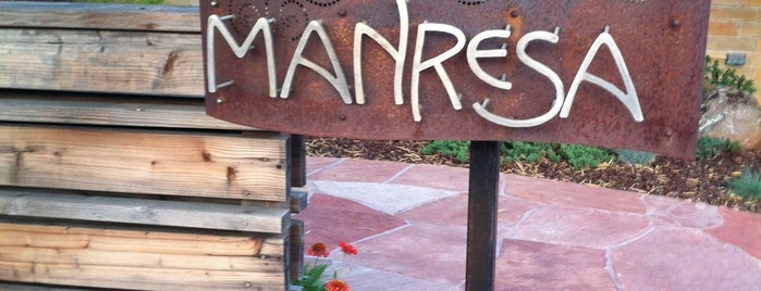 Manresa is one of Napa/Sonoma.