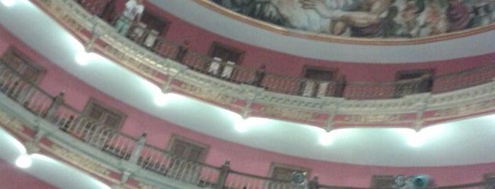 Teatro José Rosas Moreno is one of Locais salvos de Alex.