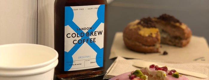 Crosstown Doughnuts & Coffee is one of Cafés EU.
