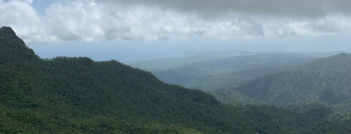 Mt. Britton Lookout Tower is one of Puerto Rico.