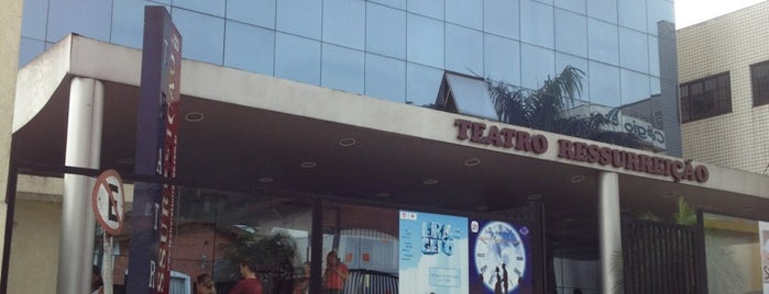 Teatro Ressurreição is one of Cledson #timbetalab SDV: сохраненные места.