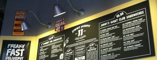 Jimmy John's is one of Locais curtidos por Tim.