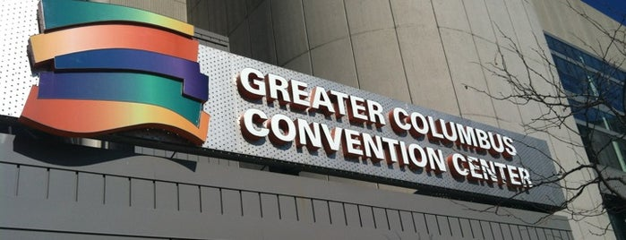 Greater Columbus Convention Center is one of Columbus!.