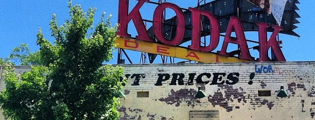 Old (abandoned) Kodak Shop is one of Atlanta.