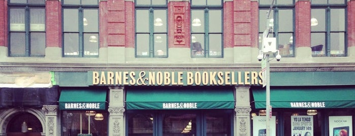 Barnes & Noble is one of Venues with free Wi-Fi in NYC.