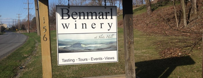 Benmarl Winery is one of Upstate nyc.