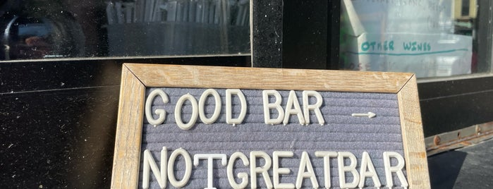 Good Bar is one of Bars.