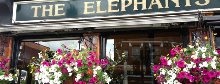 The Elephant's Head is one of London.