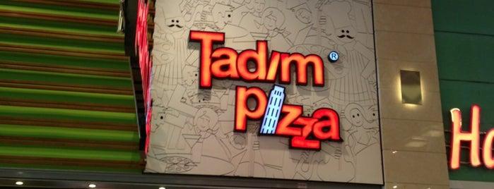 Tadım Pizza is one of Tempat yang Disukai Guven.