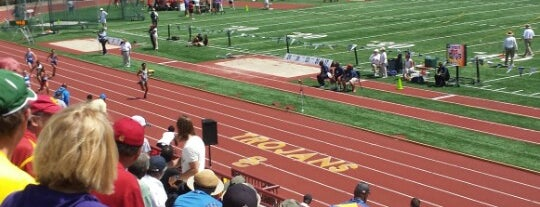 Cromwell Field & Loker Track Stadium is one of USC.