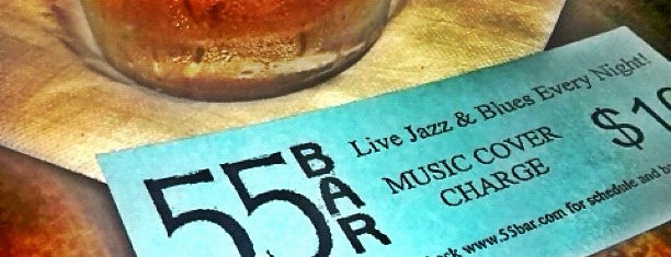 55 Bar is one of Music.
