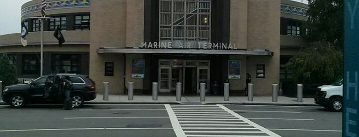 Marine Air Terminal is one of Locais curtidos por Erik.