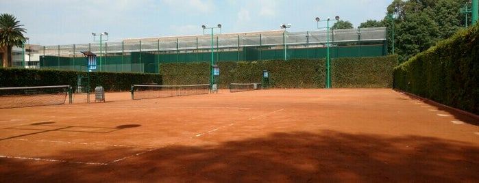 Centro Asturiano Canchas De Tenis is one of Pablo : понравившиеся места.