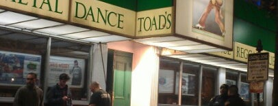 Toad's Place is one of Live music.