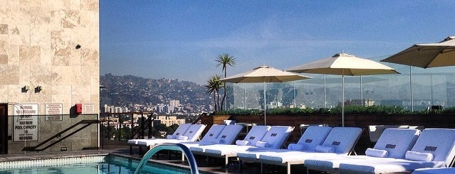 Thompson Beverly Hills Rooftop Bar (ABH) is one of Beautiful Views.