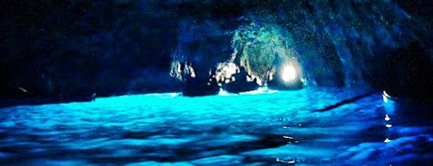 Grotta Azzurra is one of Amalfi Coast, Italy.