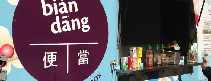 Bian Dang Truck is one of Food Trucks to Brake For.