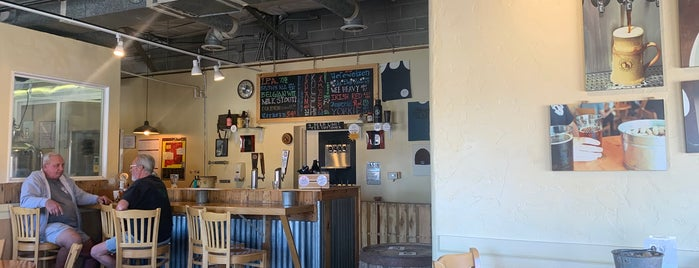 Spotted Dog Brewery is one of NM July 2018.