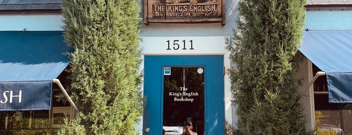 The King's English Bookshop is one of SLC 2019.