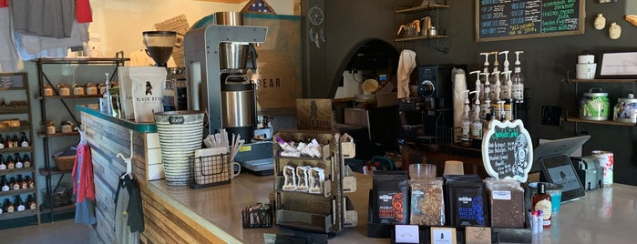 Black Bear Coffee Shop is one of New Mexico.