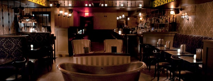 Bathtub Gin is one of Posh Places & Spaces to Cocktail.