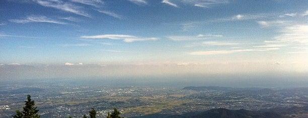 Mt. Oyama Peak is one of 丹沢・大山.